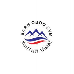 Хэнтий аймгийн Баян-Овоо сум лого with @BatbayarM